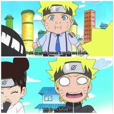 Naruto's Future NarutoSD: Rock Lee and His Ninja Pals (episode 41)