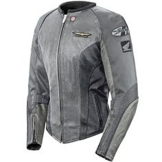 Joe Rocket Womens Skyline 2.0 Grey Jacket - Motorcycles508