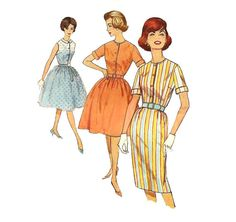 1960s Womens Shirtdress - Simplicity 4426 Vintage Pattern - 32 Bust - Shirtwaist on Etsy, $6.00