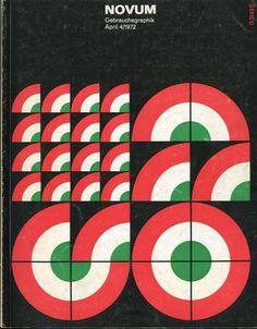 image strata / color  Novum Gebrauchsgraphik 1972
