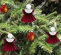 How to make angel ornaments for christmas tree - christmas craft