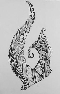 Hook Tattoos, Leg Tattoos, Arm Band Tattoo, Body Art Tattoos, Buddha Tattoos, Polynesian Tattoo Designs, Polynesian Art, Maori Tattoo Designs, Tongan Tattoo