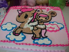 Tokidoki cake...so flippin cute