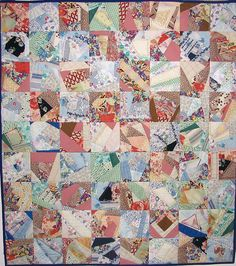 Vintage Fabric Quilt.