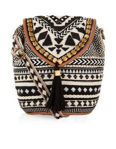 Tribe Braided Mini Pouch Bag