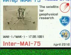 Iss pic decoded with robot 36 app