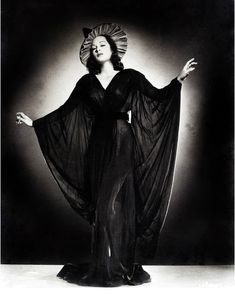 """""""Vintage Witch Glamour Photograph"""""""