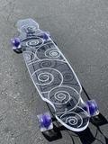 Swirl Ghost Board – Ghost Long Board Coral, Turquoise, Big Boys, Purple, Blue, Skate, Yellow, Red, Viola