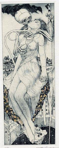 Alphonse Inoue, Danse Macabre #gothic