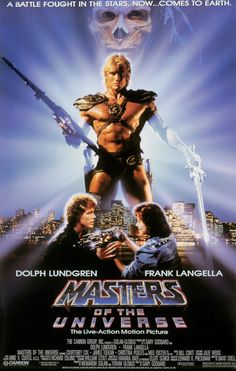 Masters of the Universe, Dolph Lundgren & Frank Langella. http://kookyplanet.wordpress.com/2011/07/06/horrible-movies-that-are-awesome/