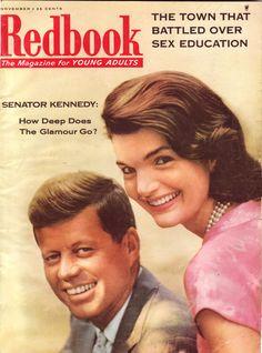 1957 - Senator John F Kennedy and Jackie -- rising political stars