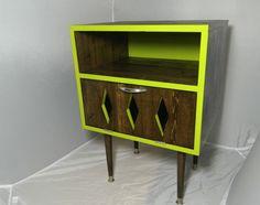 OrWa Design's Lime Zing Nightstand