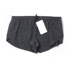 Pre-owned Fabletics Athletic Shorts Size 8: Black Women's Activewear ($23) ❤ liked on Polyvore featuring activewear, activewear shorts and black