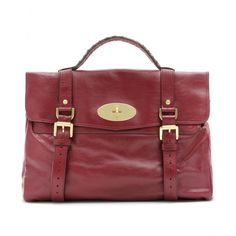 Alexa leather bag conker