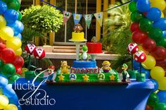 Super Mario Brothers Birthday Party Ideas | Photo 9 of 16 | Catch My Party