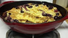 Cherry Oven Pancake, all rumpled and good