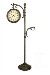Woodard Outdoor W GA967 Standing Clock Thermometer