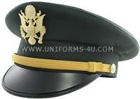 us army green Officer company grade hat