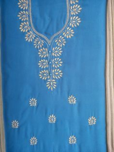 New embroidery ideas machine kurti ideas Embroidery On Kurtis, Embroidery Neck Designs, Hand Work Embroidery, Creative Embroidery, Hand Embroidery Stitches, Embroidery Hoop Art, Crewel Embroidery, Embroidery Patterns, Machine Embroidery