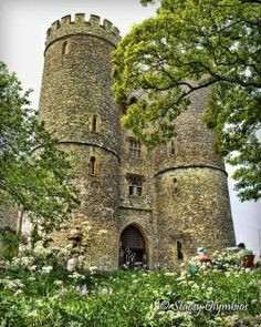 Saltwood Castle, Saltwood, Hythe, Kent. England. The castle is known as the site where the plot was hatched to assassinate Thomas Becket and more recently was the home of the late Alan Clark a minister in Margaret Thatcher's government