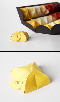 Tea packaging by Milagros Maria Bouroncle Rodriguez