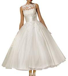 DAPENE® Women New Fashion Lace Shoulder A-Line Custom Size Wedding Dresses, http://www.amazon.com/dp/B00MMVEQY6/ref=cm_sw_r_pi_awdm_1iQxvb0FH3QP9