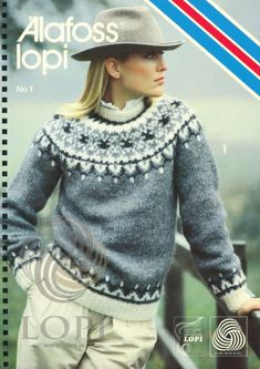 Lopi Knitting Patterns Alafoss Lopi No 5 Knitting Patterns Men Women Children Pullover Cardigan Sweater Vest Outerwear Sizes Vary Ski Fair Isles Cable. Fair Isle Knitting Patterns, Fair Isle Pattern, Sweater Knitting Patterns, Knit Patterns, Vintage Knitting, Free Knitting, Icelandic Sweaters, Nordic Sweater, Ravelry