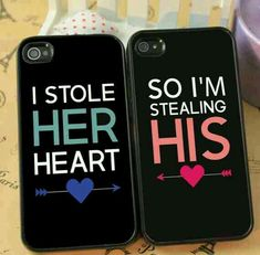 Matching Couple Cases! So cute!