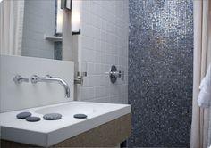 Luxury Bathroom Tile | Vihara | Sonoma Tilemakers  Metta Iridescent