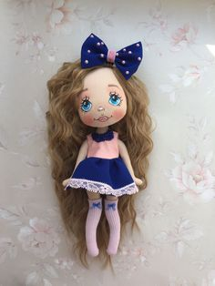 """Купить Куколка """"Модница"""" - кукла ручной работы, кукла, кукла в подарок, кукла интерьерная"""
