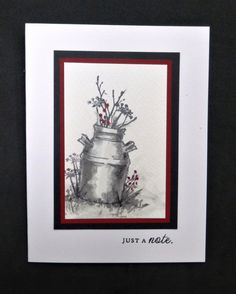 *CC621 Milk Can by hobbydujour - Cards and Paper Crafts at Splitcoaststampers