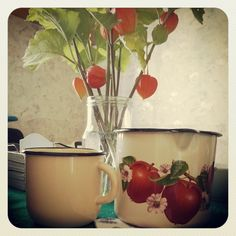 Bought some new enamel. Photo by mademoiselle MAYBEE. August 2013, Estonia.