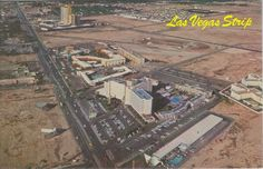 The Las Vegas Strip During the 1950's -