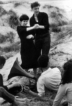 Lido di Venezia, spiaggia di Malamocco, 1958