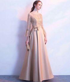 : Harika - Harika Source by - Hijab Prom Dress, Muslimah Wedding Dress, Hijab Style Dress, Muslim Dress, Dress Outfits, Bridesmaid Dress, Hijab Gown, Wedding Bridesmaids, Gaun Dress