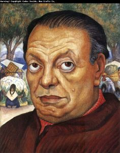 Diego Rivera self portrait