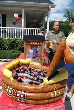 Gunner's Pirate Bash | CatchMyParty.com