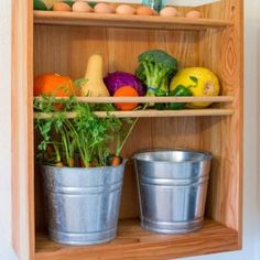 While we can all agree that naturally preserving our harvest is better for our food budgets and for the environment, not all of us have practical space for a root cellar. But with a little bit of ingenuity, you can store homegrown (or farmers market) produce while enjoying the conveniences of city living.