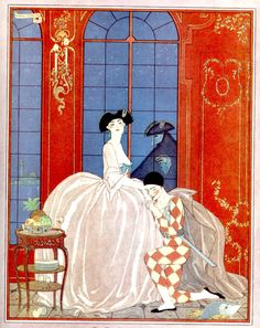 George Barbier – L'Illustration Noël 1921