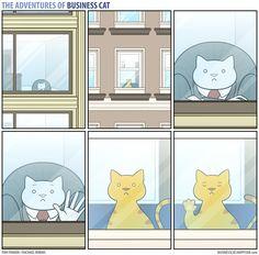 The Adventures of Business Cat Comic Strip, November 21, 2016 on GoComics.com
