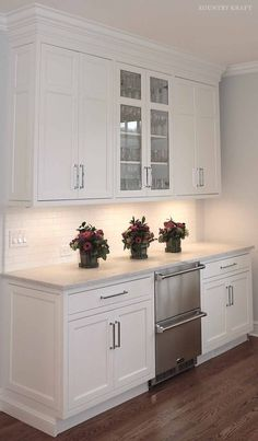 White Custom Cabinetry New Canaan, Connecticut https://www.kountrykraft.com/photo-gallery/white-custom-cabinetry-new-canaan-ct/ #KountryKraft #CustomCabinetry #CustomKitchenCabinets