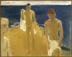David Park  American (Boston, Massachusetts, 1911 - 1960, Berkeley, California)  Bathers  1954  Painting | oil on canvas