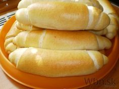 Upečte si skvelé domáce rohlíky - My site Bread Recipes, Cake Recipes, Snack Recipes, Cooking Recipes, Healthy Recipes, Czech Recipes, No Bake Cookies, Sweet And Salty, How To Make Bread