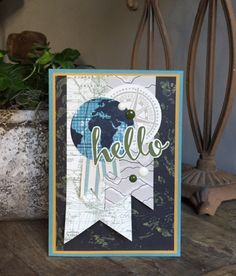 Stampin Up, SU, Hello, Going Places, Going Global