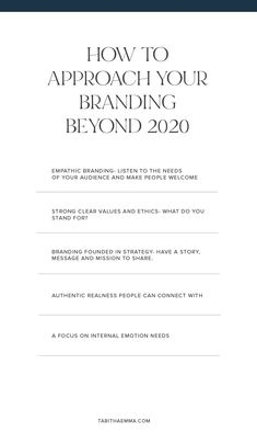 The future of brand design, brand design trends. How to brand your business in a world after 2020. Empathic, emotional branding with strategy and meanaing. #brandstrategy Branding Your Business, Business Look, Business Tips, Blog Design, Design Trends, Visual Identity, Brand You, Read More, Branding Design