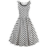 Sisjuly vintage dress fashion sleeveless style party dresses sexy 1950s pin up dresses vestido de festa luxury women dress