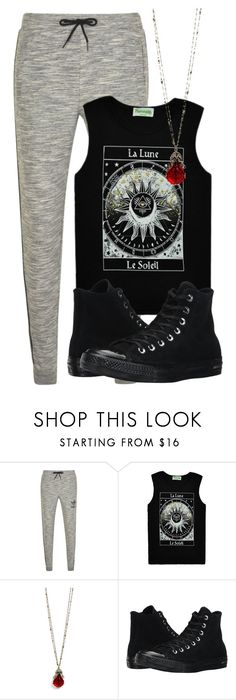 """""""Jeremy Inspired Lazy Day Outfit"""" by fangsandfashion ❤ liked on Polyvore featuring adidas Originals, Sweet Romance and Converse"""