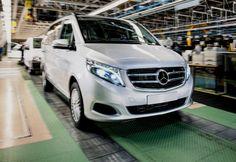 Otosip.com - Resmi meluncur di tanah air, mobil keren MPV Mercedes-Benz New V-Class Hanya Dijual kisaran Rp 1.3 Miliar.