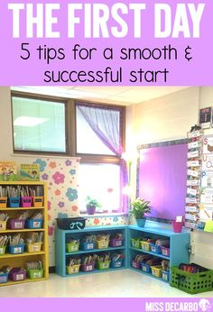 5 tips for a smooth and successful first day of school!