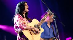 Souad Massi: Carrying The Sound Of Algeria On Her Back - Souad Massi performs earlier this month at the Montreal International Jazz Festival.